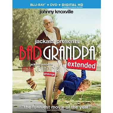 Jachass Presents: Bad Grandpa (Blu-ray)