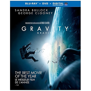 Gravity (3D Blu-ray/Blu-ray/DVD)