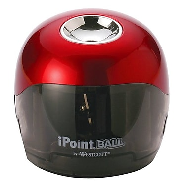 Westcott® iPoint Ball Battery-Operated Pencil Sharpener