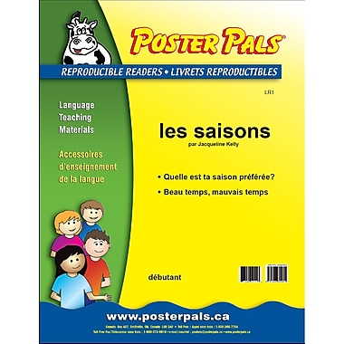 French FSL Reproducible Reader - les saisons