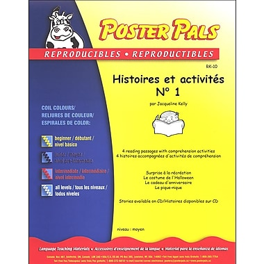 French Reproducible Teaching Activities for the FSL Classroom -histoires et activités No. 1