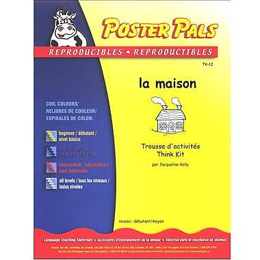 French Reproducible Teaching Activities for the FSL Classroom -la maison