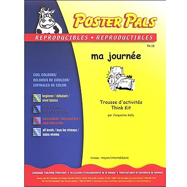 French Reproducible Teaching Activities for the FSL Classroom -ma journée