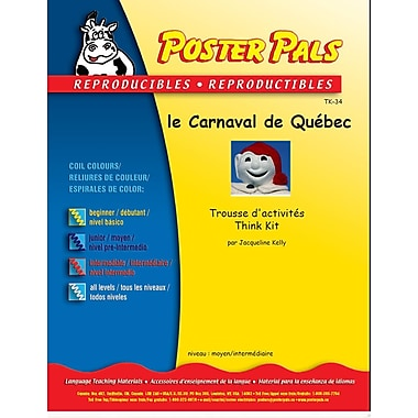 French Reproducible Teaching Activities for the FSL Classroom -le carnaval du Québec