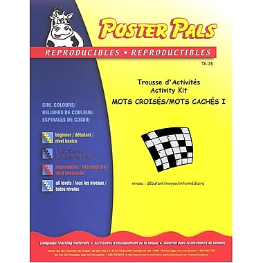 French Reproducible Teaching Activities for the FSL Classroom -Trousse de Mots Croisés/Mots Cachés