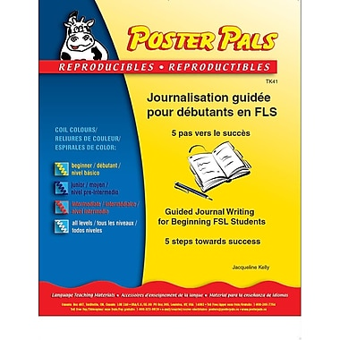 French Reproducible Teaching Activities for the FSL Classroom -Journalisation guidée