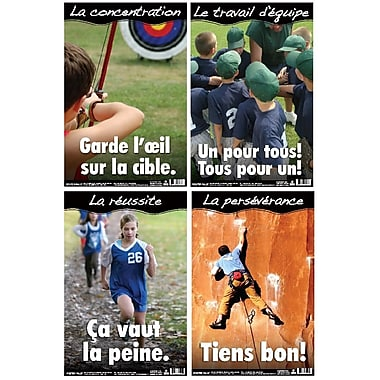 French Educational and Motivational Posters