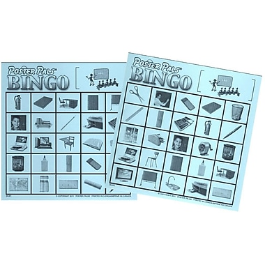French Bingo - Classroom Items