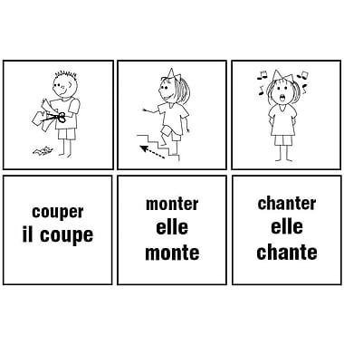 Cartes éclair en français – Verbes d'action