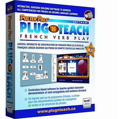 Plug 'n Teach: French Verb Play software