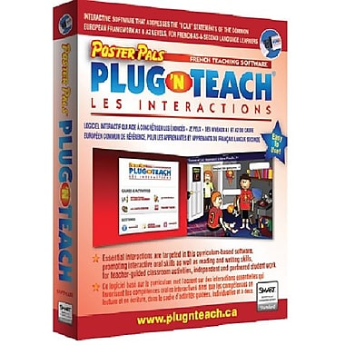 Plug 'n Teach: Les interactions French software