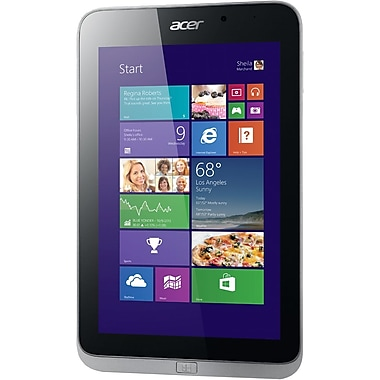 Acer® Iconia W4-820 64GB 8in. Windows 8 Net-Tablet PC, Gray