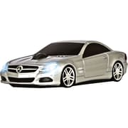 Road Mice™ Mercedes Benz SL550 Car Wireless Optical Mouse, Silver