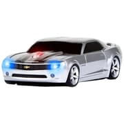 Road Mice™ Concept Camaro Car Wireless Optical Mouse, Silver/Black