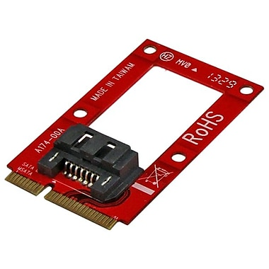 Startech.com® mSATA to SATA HDD/SSD Adapter