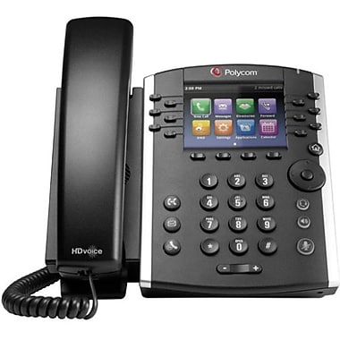 Polycom – Téléphone IP Vvx 410, câblé, de bureau