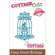 "CottageCutz® Elites 3"" x 2"" Thin Metal Die, Fancy Ornate Birdcage"