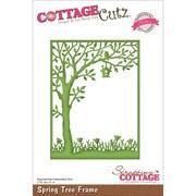 """CottageCutz® Elites 5"""" x 3 3/4"""" American Steel Die, Spring Tree Frame"""