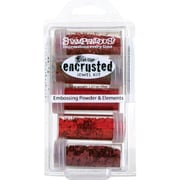 Stampendous® Encrusted Jewel Kit, Red, 5/Pack