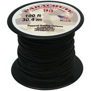 Pepperell 100' 95 Parachute Cord, Black
