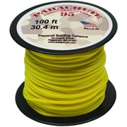 Pepperell 100' 95 Parachute Cord, Neon Yellow
