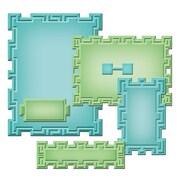 Spellbinders® Nestabilities® A2 Card Creator Die, Tile Works