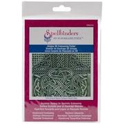 "Spellbinders® M-Bossabilities™ 5"" x 7"" 3D Embossing Folder, Celtic Knot"