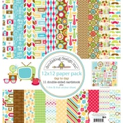 "Doodlebug™ Day To Day Paper Pack, 12"" x 12"""