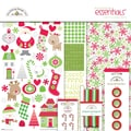 Doodlebug™ 12in. x 12in. Home For The Holidays Essentials Page Kit