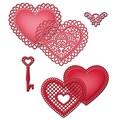 Spellbinders® Shapeabilities® 11 1/4in. x 5 1/4in. Die, Lace Hearts