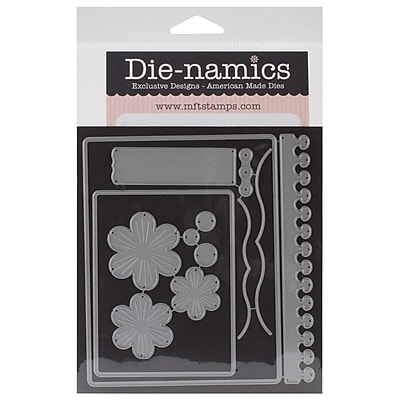 """""My Favorite Things Die-Namics 4 1/8"""""""" x 5 3/8"""""""" Steel Die, Blueprints 5"""""" 871008"