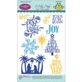 Justrite® Papercraft 4in. x 6in. Clear Stamp Set, O Holy Night