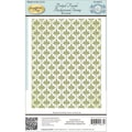 Justrite® 4 1/2in. x 5 3/4in. Papercraft Background Cling Rubber Stamp, Dotted Fronds