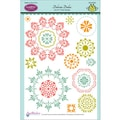 Justrite® Papercraft 6in. x 8in. Clear Stamp Set, Dainty Doilies