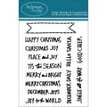 Technique Tuesday® 3in. x 4in. Clear Stamp, Hello Santa Banners