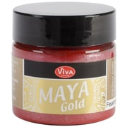 Viva Decor Maya Gold 50 ml Liquid Metallic Paint, Fire Red