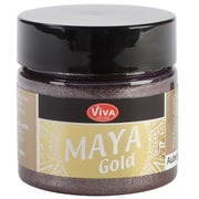 Viva Decor Maya Gold 50 ml Liquid Metallic Paint, Aubergine