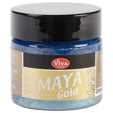 Viva Decor Maya Gold 50 ml Liquid Metallic Paint, Ice Blue