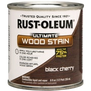 Rust-Oleum® Ultimate Wood Stain, Black Cherry, Half Pint, 8 oz.