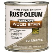 Rust-Oleum® Ultimate Wood Stain, Sunbleached, Half Pint, 8 oz.