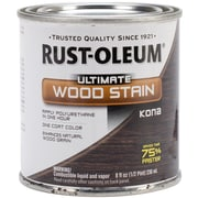 Rust-Oleum® Ultimate Wood Stain, Kona, Half Pint, 8 oz.