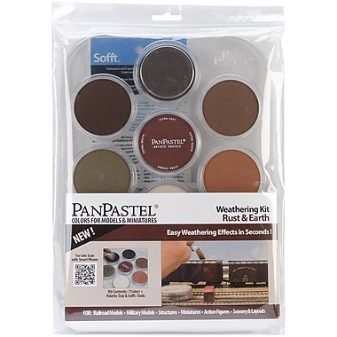 Colorfin PanPastel 9 ml. Ultra Soft Painting Pastel Set, 9/Pack (PP30701)