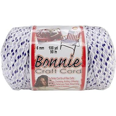 Pepperell Bonnie Macrame Craft Cord, 6 mm x 100 yds., Lavender Chip