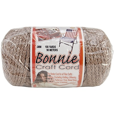 Pepperell Bonnie Macrame Craft Cord, 6 mm x 100 yds., Pottery