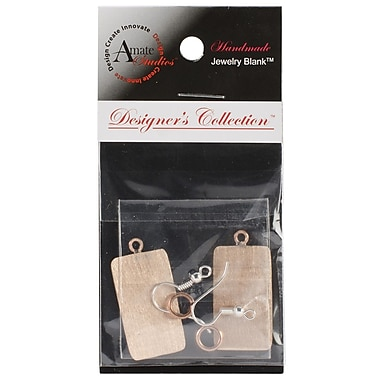 Amate Studios™ Designer's Flat Rectangle Jewelry Set, Copper