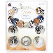 Cousin® Large Hole Bracelet Kit, Amber