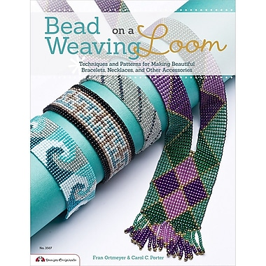 Design Originals Bead Weaving on a Loom Book By Carol C Porter, Fran Ortmeyer