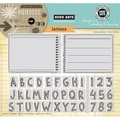 Hero Arts® In Cardmaking & Journaling 8in. x 6in. Cling Rubber Stamp, Letters