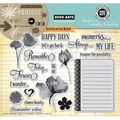 Hero Arts® In Cardmaking & Journaling 8in. x 6in. Cling Rubber Stamp, Remember