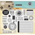 Hero Arts® In Cardmaking & Journaling 8in. x 6in. Cling Rubber Stamp, Time